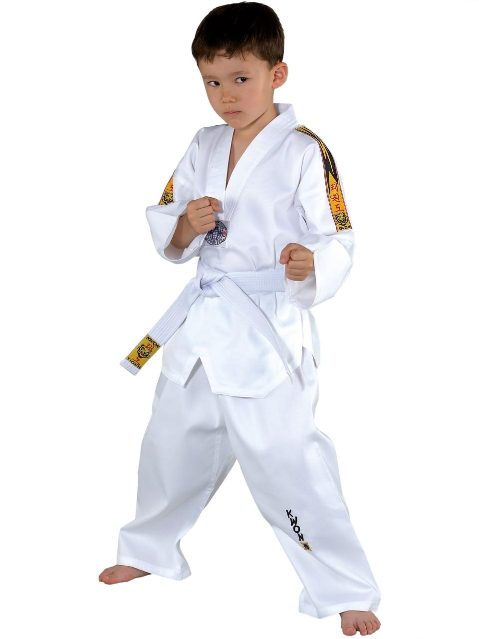Dobok Taekwondo Kwon Tiger